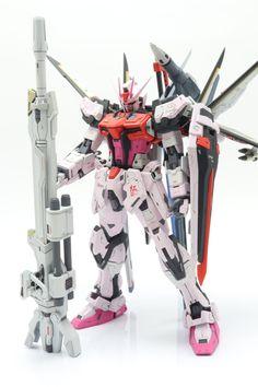Strike Gundam, Gunpla Custom, Gundam Model, Mobile Suit, Movie Tv, Sci Fi, Concept, Anime, Models