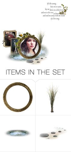 """""""The Lady of Shalott"""" by viennemoore ❤ liked on Polyvore featuring art and BOTE1"""