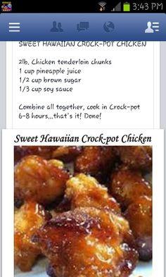 Hawaiin Chicken....