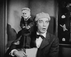 Buster Keaton and friend :-)