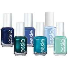 essie Blues Nail Polish ($7.20) ❤ liked on Polyvore
