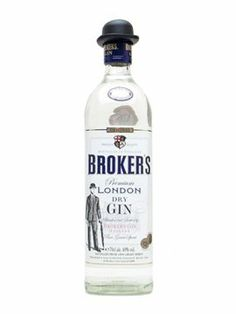 Broker's Gin, cheap and good