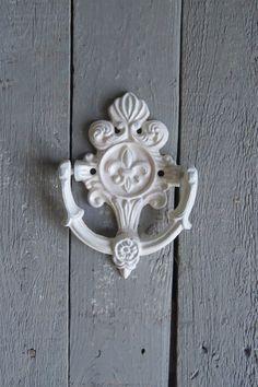 Door Knocker Vintage Inspired Ornate Hardware Fancy by Swede13