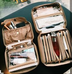 Discover recipes, home ideas, style inspiration and other ideas to try. Travel Packing, Travel Bags, Packing Tips, Travel Ideas, Journey Pictures, Travel Organization, Travel Essentials, Travel Accessories, Cosmetic Bag