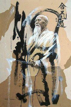 """PARTAGE OF MARK UTKIN..........ON FACEBOOK......Le secret de l'Aïkido est de nous harmoniser avec le mouvement de l'univers et de nous mettre en accord avec l'univers lui-même. Celui qui a gagné le secret de l'Aïkido a l'univers en lui-même et peut dire: """"Je suis l'univers. Ce n'est pas parce que ma technique est plus rapide que celle de l'ennemi. Ce n'est pas une question de vitesse. La lutte est terminée avant qu'elle ne soit commencée """" ..."""