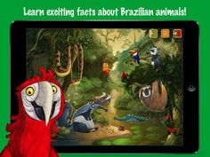 Brazil - Animal Adventures for Kids apps4kids games 제작 브라질