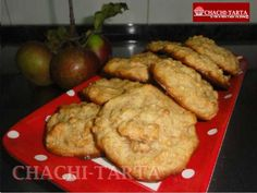 Galletas de manzana con canela (sin gluten - sin lactosa)