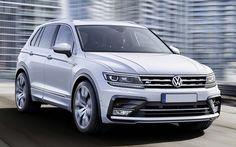 2016 VW Tiguan - front view