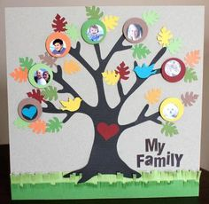 Put pics of the kids on the tree with the teachers at the bottom!
