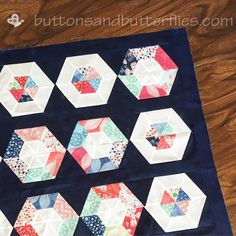 Buttons and Butterflies: Summer Aria I and II {Quilts}
