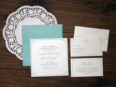 Affordable Printable Wedding Invitation  by CrystalCreativePaper, $46.00