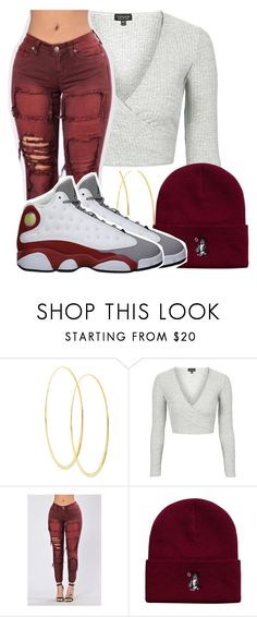 """""""Untitled #2437"""" by kayla77johnson ❤ liked on Polyvore featuring Lana, Topshop, October's Very Own and Retrò"""