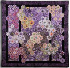 One block wonder quilts - Saferbrowser Yahoo Image Search Results One Block Wonder, Quilting Projects, Quilting Designs, Quilting Ideas, Kaleidoscope Quilt, Purple Quilts, Paisley, Hexagon Quilt, Hexagon Patchwork
