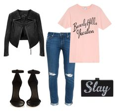"""""""Untitled #74"""" by rumorsofthecatwalk on Polyvore featuring Paige Denim, Wildfox, Isabel Marant and Linea Pelle"""