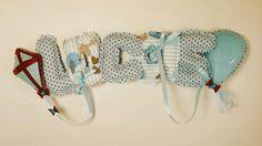 Personalized baby door name Baby Door, Wall Banner, Personalized Baby, Clothes Hanger, Nursery, Handmade, Color, Colour, Hangers