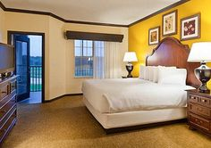 Suites with gorgeous golf course views welcome you at Bluegreen Vacations  Grande Villas at World Golf Village, an Ascend Resort in St.