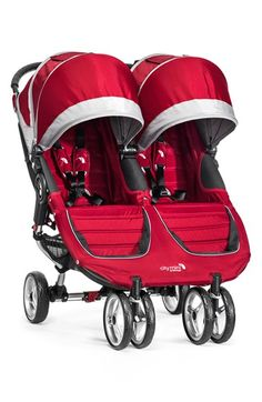 Infant Baby Jogger 'City Mini Double' Stroller - Red