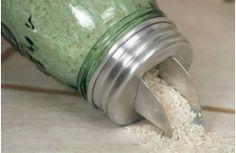 Galvanized Mason Jar Bowled Lids - Decor Steals ~Enjoy Today's Steal from DECOR STEALS www.decorsteals.com previously WUSLU