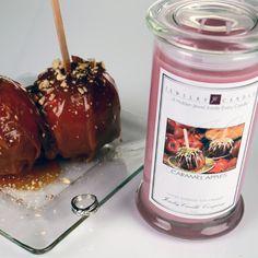 Caramel Apples Jewelry Candle  www.brittanycrock.jewelrycandles.com