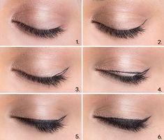 Winged eyeliner #tutorial #evatornadoblog