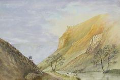 Wolfescote Dale, Derbyshire, Watercolour, Derek Stansfield, SAA Professional Members' Galleries