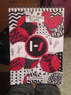Twenty One Pilots Blurryface fan art