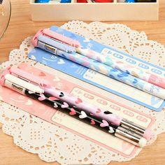 Cute gel pen, 2pcs/set, creative gel pen, Cute pen, Excellent quality (SS-1556)
