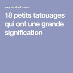 18 petits tatouages qui ont une grande signification