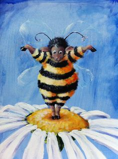 """BEE EWE - Sheep Incognito Print, Signed, Double Mat 8"""" x 10"""" on Etsy, $29.00"""