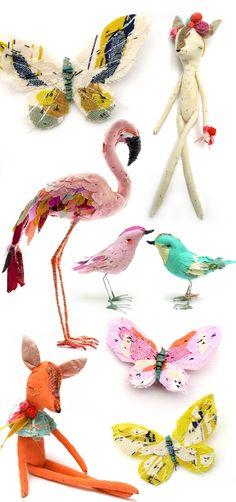 Academia Craft | Artesanato e artes para relaxar | Pássaros e outras coisas de patchwork