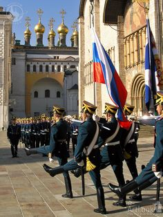 Guard Mounting Ceremony at the Kremlin, Moscow, Russia | Arthur Lookyanov (ArtLook), TrekEarth