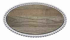 String of Pearls Oval Cheese Tray