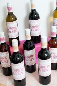 wine bottle keepsake