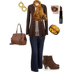 """plus size fall outfit"" by penny-martin on Polyvore"