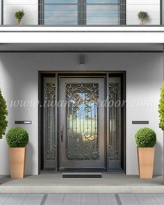 ✏️✏️✏️ When it comes to buying a new door for your home, no two houses are exactly alike. With our custom iron doors, you get the freedom to design what you want! -- ☎️☎️☎️ Call 877-205-9418 for Orders and Inquiries 💰💰💰 Ask us about our EXCEPTIONAL OFFERS 🆓🆓🆓 Take advantage of FREE CONSULTATION and FREE DESIGN ⚠️⚠️⚠️ About this Beautiful IRON DOOR: Custom Single Iron Door w/Transom. -- #iwantthatdoor #universalirondoors #ironfrontdoor #irondoorsnearme #irondoorcompany #cheapirondoor Entry Doors With Glass, Glass Door, Iron Front Door, Wrought Iron Doors, Pivot Doors, French Doors, Tuscany, Clear Glass, Minimalism