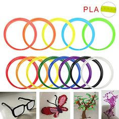 Tera 3D Printing Pen Filament Refills Ink PLA 13 Colors Pack 10m 32ft / 1.75mm for 3D Doodle Printer -- See this great product.