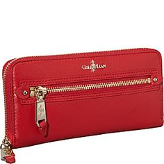 Cole Haan Linley Tablet Zip Wallet - Tango Red - via eBags.com!