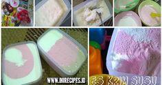 Es Krim Susu Homemade  - Es krim? siapa bunda di sini yang tidak suka memakan es krim! Pasti bunda pembaca setia INIRecipes menukainya, ka...