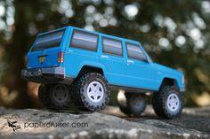 Jeep XJ Cherokee | papercruiser.com