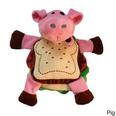 KONG COMPANY pet Silly Sandwiches Dog Toy