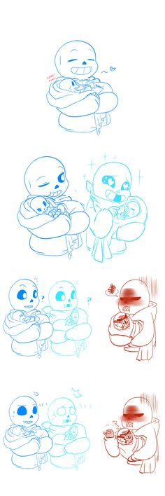 sans and papyrus. Babybones, undertale, AU, swap, fell
