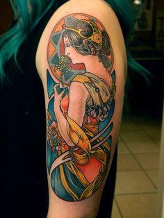 Great colors by Sam Warren.