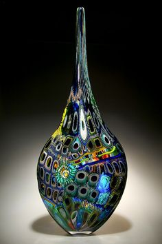Art-Glass Sculpture by David Patchen ♥༺❤༻♥