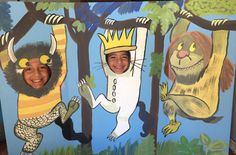Where The Wild Things Are Party- Where the Wild Things Are Birthday- Where The Wild Things Are Photo Prop- Photo Op- Face in the Hole- Max by CreativChick on Etsy https://www.etsy.com/au/listing/453150424/where-the-wild-things-are-party-where
