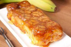 Банановый пирог с карамелью | Печем и варим
