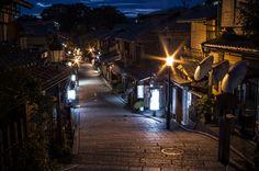 Ninen-zaka 二念坂 during Blue Hour, Kyoto