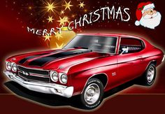 Merry Christmas to all the gear heads on Pinterest ☆