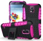 Cush Cases Heavy Duty Rugged Cover Case for Samsung Galaxy S5 SV S V Smart Phone – PINK