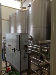 C.I.P (CIP) automática depósitos individuales 4x5.000 l 3 líneas