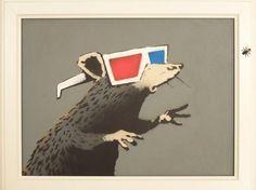 Banksy, Hollywood Rat (2002)